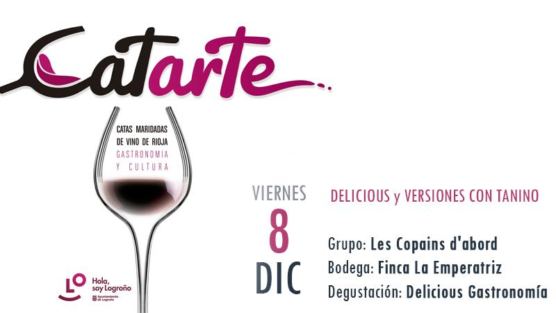 Catarte - DELICIOUS y VERSIONES CON TANINO