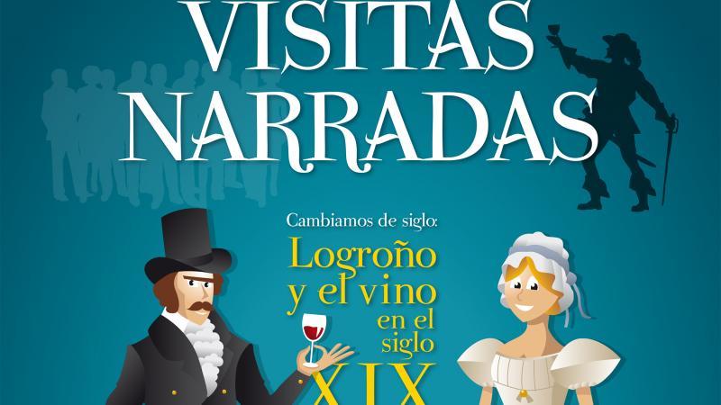 """Visites commentées """"Logroño et le vin au 19ème siècle"""""""