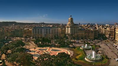 Barcelona y Monserrat con tren cremallera