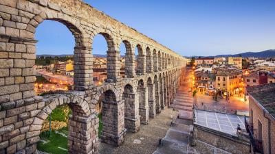 Un jour á Ávila et Segovia