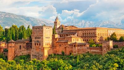 La Alhambra con audioguía.